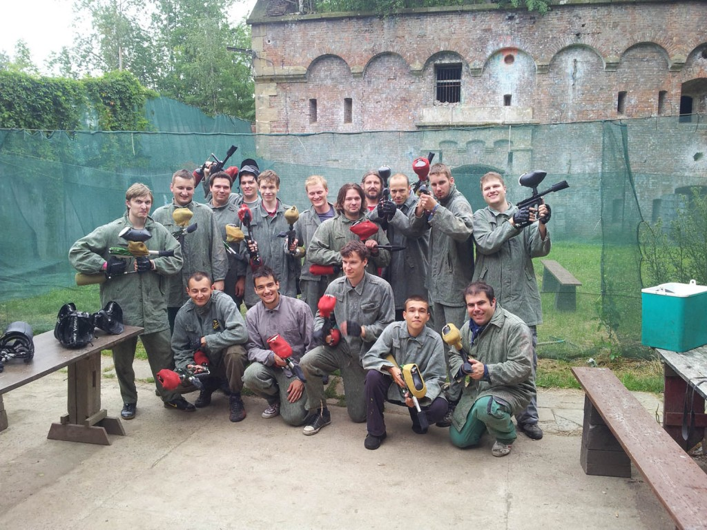 NET sraz paintball